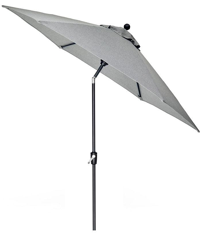 Furniture - Grove Hill II Outdoor 9' Umbrella With Sunbrella® Fabric