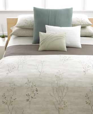 Calvin Klein Home Briar Queen Duvet Cover Bedding