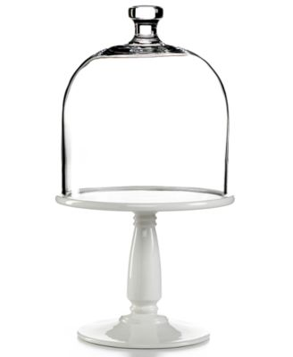 Martha Stewart Collection Serveware, Bell Jar Dome Cake Stand