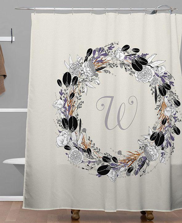 Deny Designs Iveta Abolina Silver Dove W Shower Curtain