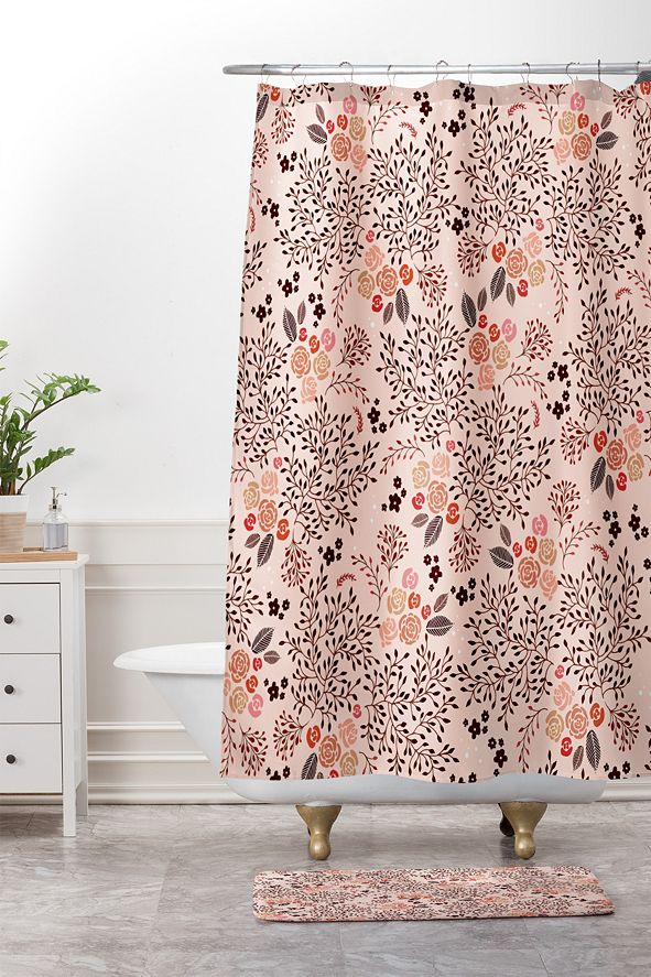 Deny Designs Iveta Abolina Off the Grid Purple Bath Mat