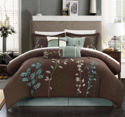 Bliss Garden 12-Pc Queen Comforter Set