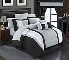 Chic Home Danielle 24-Pc King Comforter Set