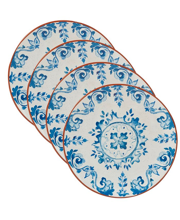 Certified International - Porto 4-Pc. Salad Plate