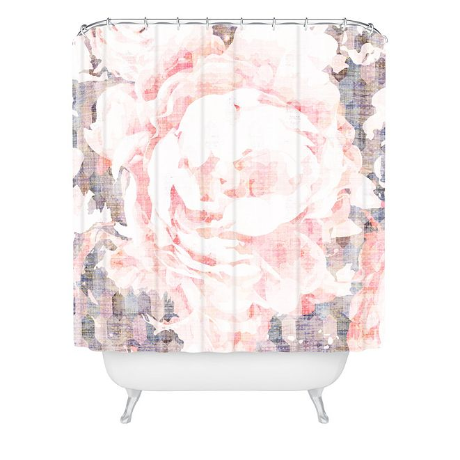 Deny Designs Holli Zollinger Flori Shower Curtain