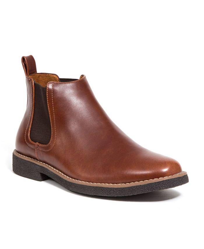 DEER STAGS Men's Rockland Memory Foam Chelsea Boot & Reviews - All Men's Shoes - Men - Macy's