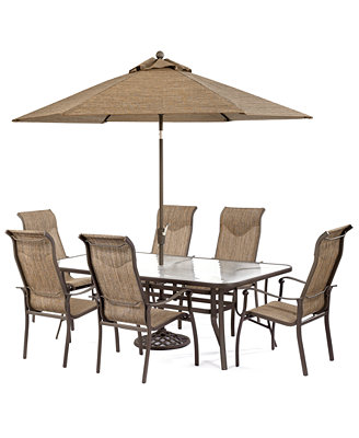 "Sale alerts for  Oasis Outdoor 7 Piece Set: 84"" x 42"" Dining Table and 6 Dining Chairs - Covvet"