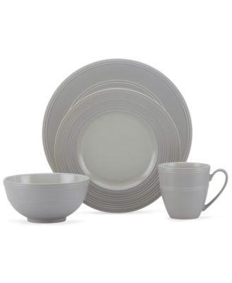 kate spade new york Dinnerware, Fair Harbor Oyster 4 Piece Place Setting