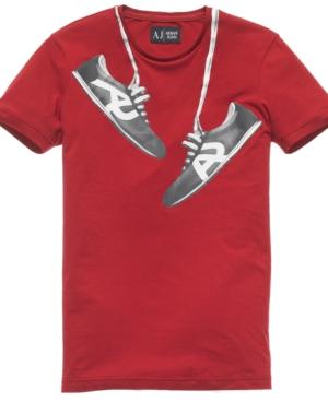 Armani Jeans Tee, Shoe Logo