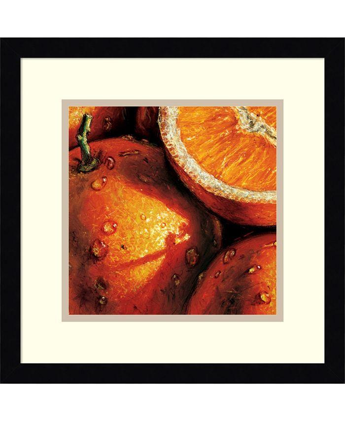 Amanti Art - Oranges 15x15 Framed Art Print