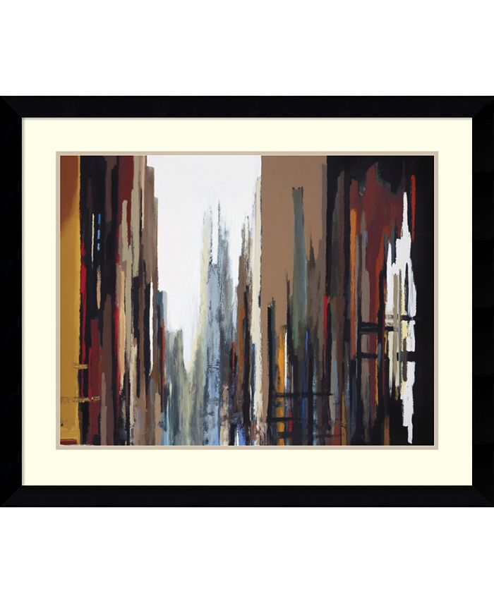 Amanti Art - Urban Abstract No. 165 37x31 Framed Art Print