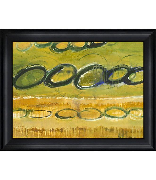 Metaverse Changing Rythm Three by Julie Joy Framed Art
