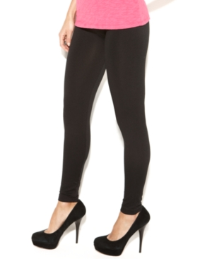 INC International Concepts Pants, Wide Waistband Leggings