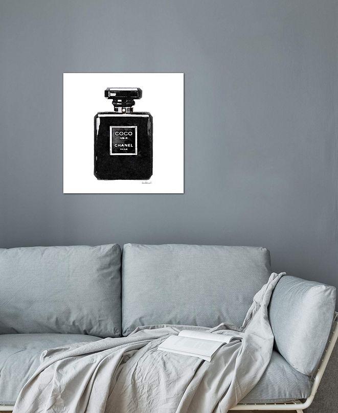 "iCanvas ""Coco Noir Perfume"" by Amanda Greenwood Gallery-Wrapped Canvas Print"