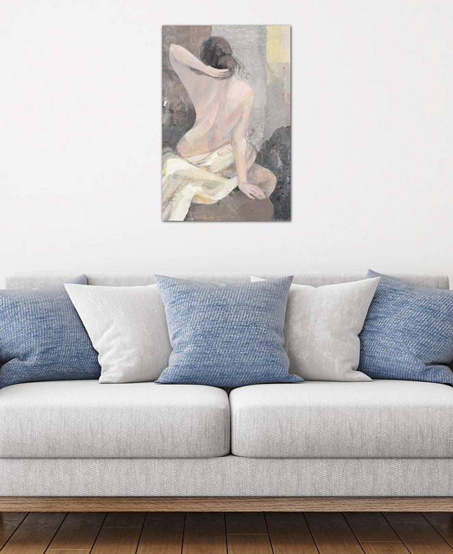 """iCanvas """"After The Bath I"""" by Albena Hristova Gallery-Wrapped Canvas Print (26 x 18 x 0.75)"""