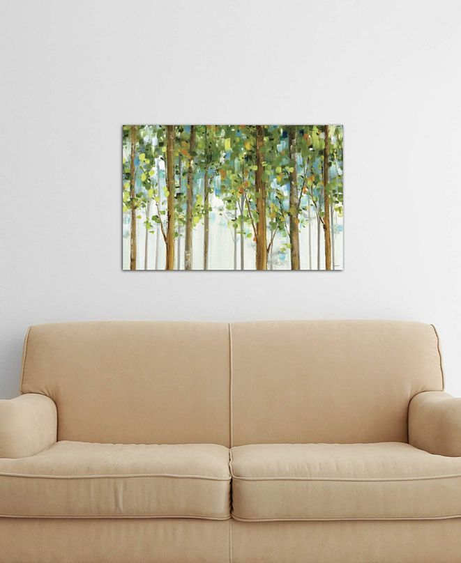 """iCanvas """"Forest Study I Crop"""" by Lisa Audit Gallery-Wrapped Canvas Print (18 x 26 x 0.75)"""
