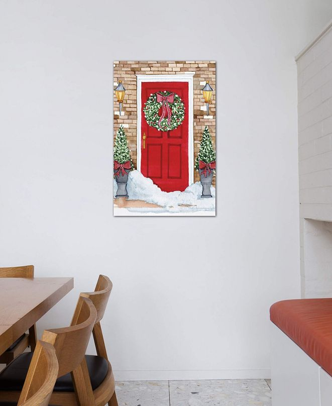 """iCanvas """"Night Before Christmas I"""" by Kathleen Parr McKenna Gallery-Wrapped Canvas Print (26 x 18 x 0.75)"""