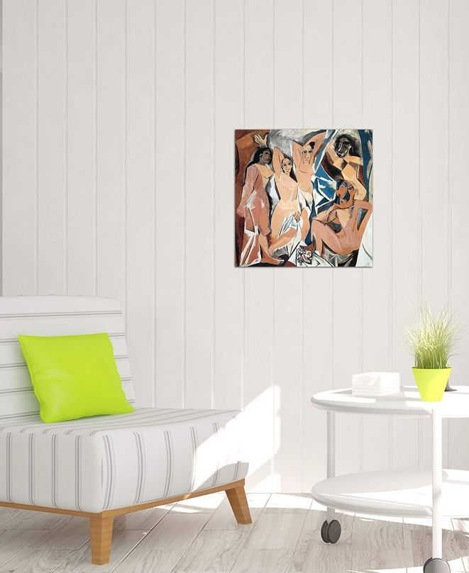 """iCanvas """"Les Demoiselles d'Avignon"""" by Pablo Picasso Gallery-Wrapped Canvas Print (26 x 26 x 0.75)"""