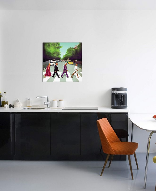 """iCanvas """"Come Together"""" by Amit Shimoni Gallery-Wrapped Canvas Print (26 x 26 x 0.75)"""