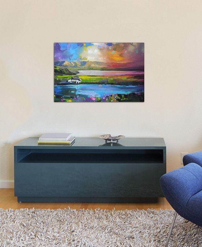 "iCanvas ""Gesto Farm Skye"" by Scott Naismith Gallery-Wrapped Canvas Print (18 x 26 x 0.75)"