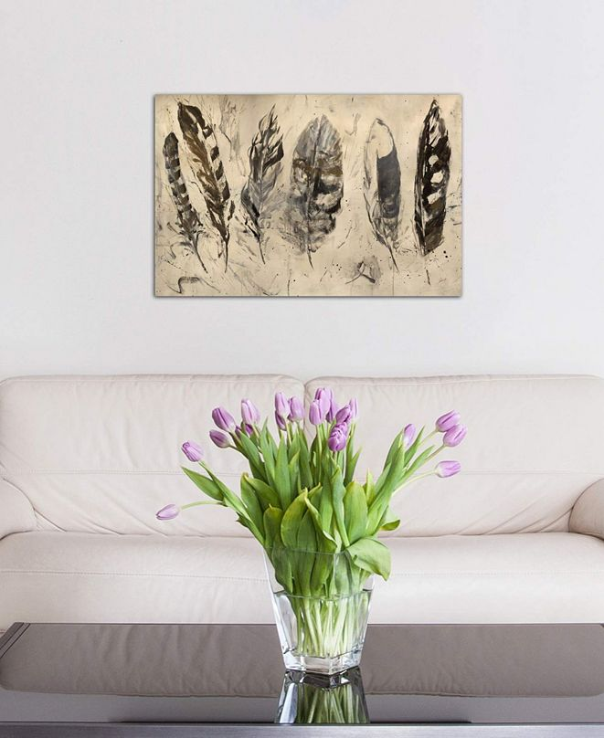 """iCanvas """"Quill"""" by Julian Spencer Gallery-Wrapped Canvas Print (26 x 40 x 0.75)"""