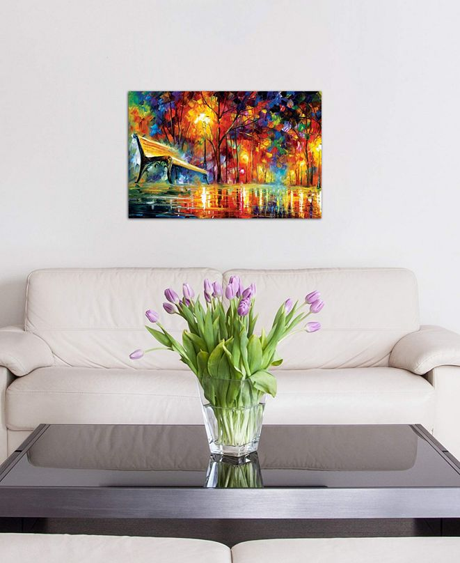 """iCanvas """"Lost Love"""" by Leonid Afremov Gallery-Wrapped Canvas Print (26 x 40 x 0.75)"""