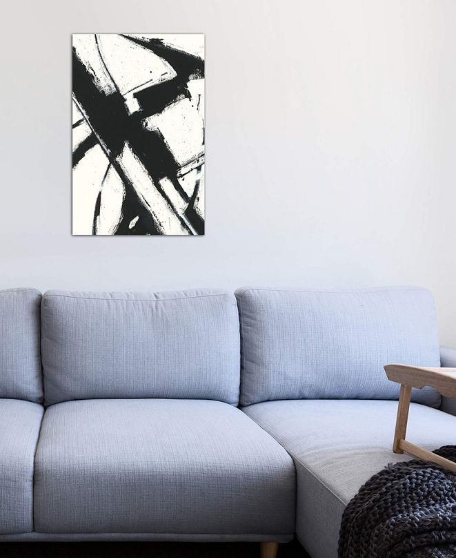 """iCanvas """"Expression Abstract I.A"""" by Shirley Novak Gallery-Wrapped Canvas Print (40 x 26 x 0.75)"""
