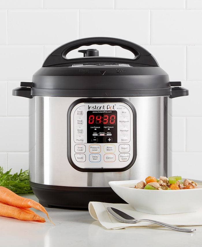 Instant Pot - DUO60 6-Qt. Electric Programmable Pressure Cooker