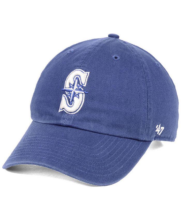 '47 Brand - Timber Blue CLEAN UP Strapback Cap