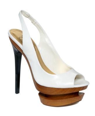 Jessica Simpson Shoes, Cinna Peep Toe Platform Pumps