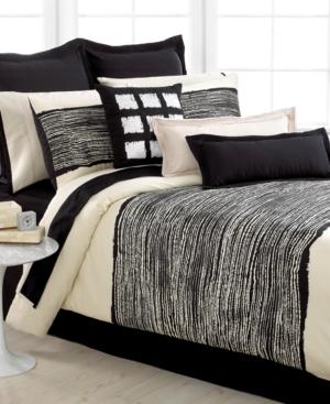 Echo Bedding, Brushstroke Queen Sheet Set Bedding