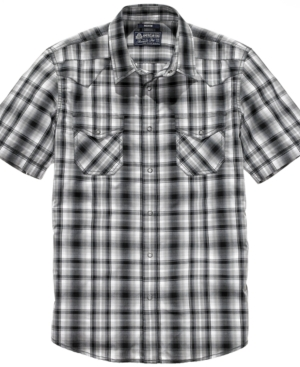 American Rag Shirt, Double Yoke Plaid Shirt