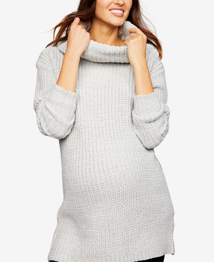 LINE - Maternity Cowl-Neck Sweater