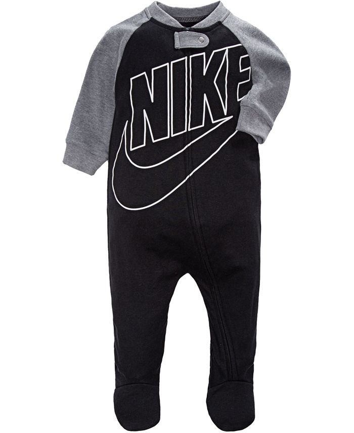 Nike - Baby Boys Futura Raglan Footed Coverall