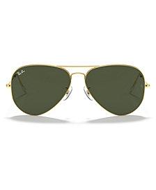 Ray-Ban Sunglasses, RB3026 AVIATOR LARGE