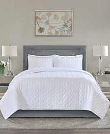 Madison Park Noel Quilted 3-Piece King/Cal King Coverlet Set