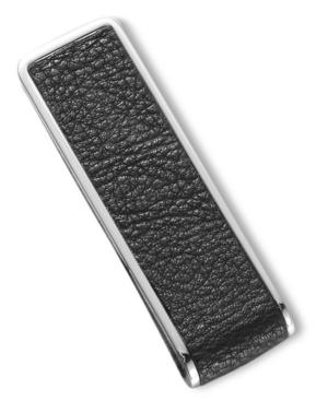 Kenneth Cole New York Money Clip, Polished & Brushed Hematite