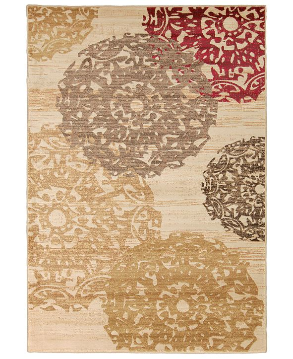 """Surya Riley RLY-5051 Butter 6'6"""" x 9'8"""" Area Rug"""