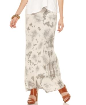 Kensie Skirt, Tie Dye Maxi