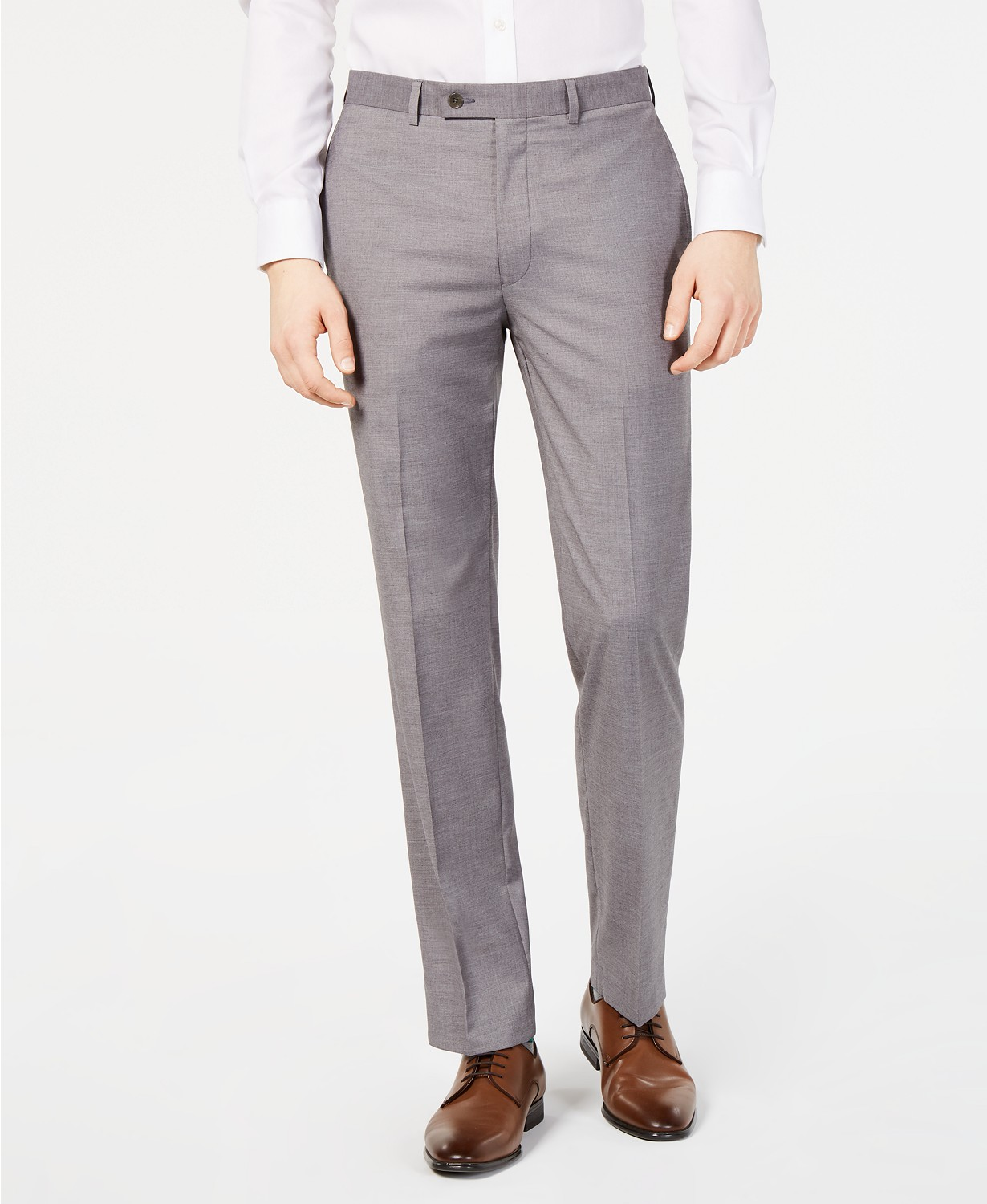 Calvin Klein Men's Slim-Fit Performance Stretch Dress Pants