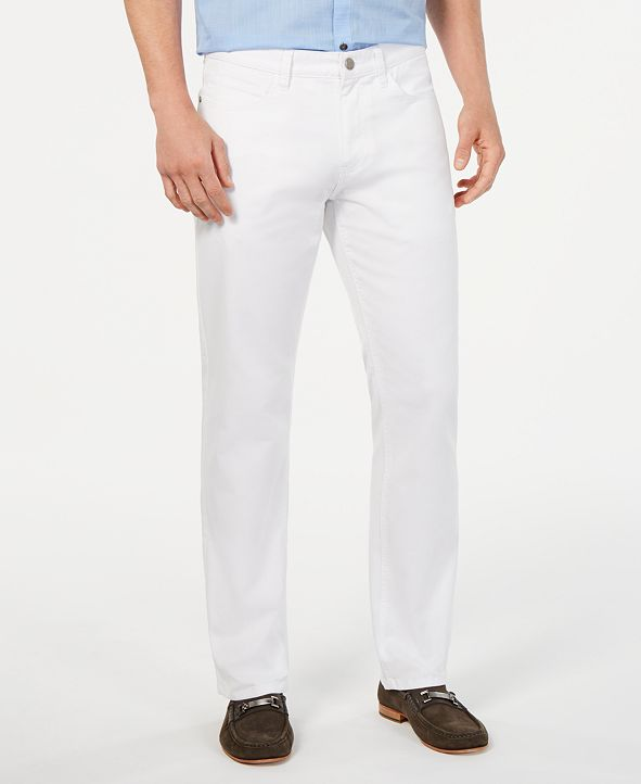 Alfani Men's Stretch Fashion Color Jeans, Created for Macy's