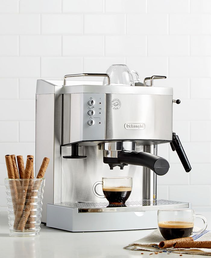 De'Longhi - DeLonghi EC702 15 Bar Stainless Steel Espresso and Cappuccino Machine