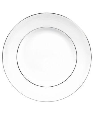 Vera Wang Wedgwood Dinnerware, Blanc sur Blanc Dinner Plate
