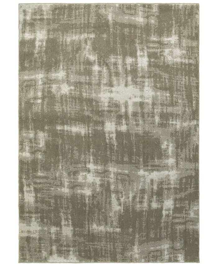 "Oriental Weavers - Rowan 565H Gray/Ivory 5'3"" x 7'6"" Area Rug"