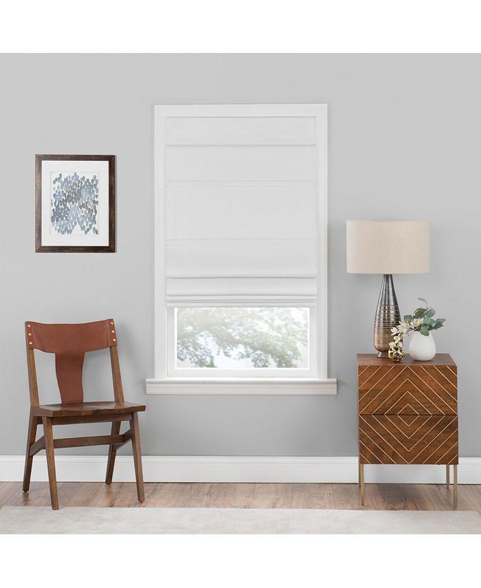 Achim - Cordless Blackout Roman Window Shade 31X64 White