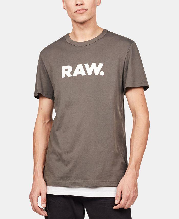 G-Star Raw - Men's Holorn RAW Logo T-Shirt