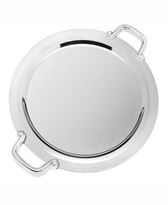 "Revere 14"" Round Handled Tray"