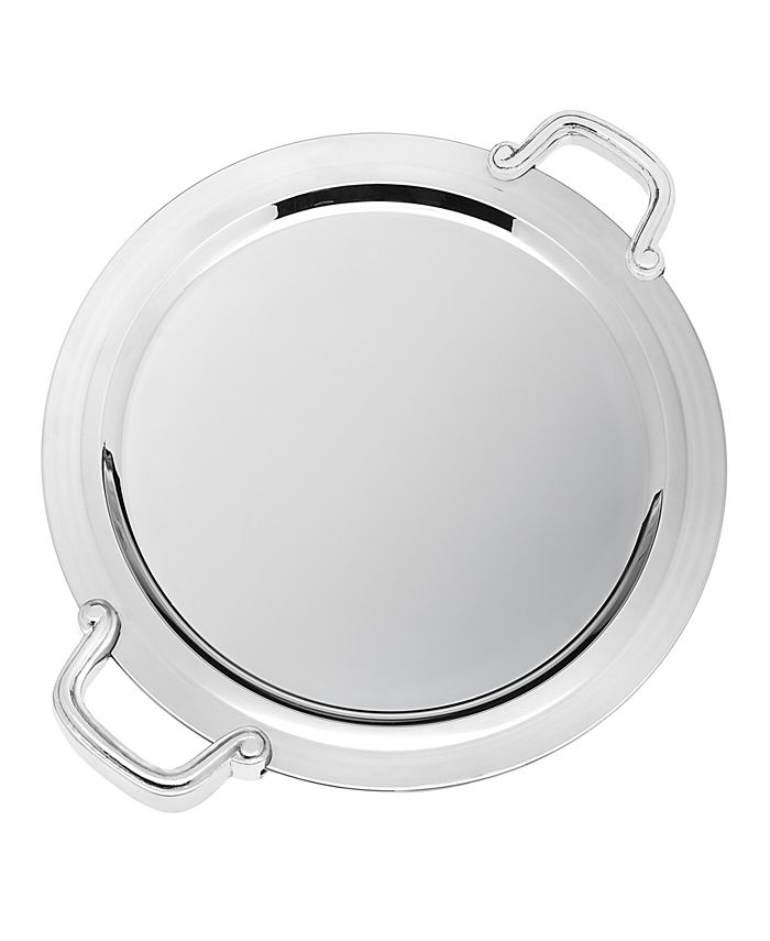 "Godinger - Revere 14"" Round Handled Tray"