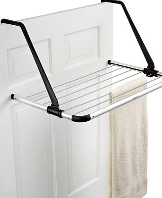 brabantia laundry drying rack over the door cleaning organizing for the home macy 39 s. Black Bedroom Furniture Sets. Home Design Ideas
