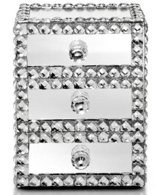 Mirrored Sparkle Jewelry Box